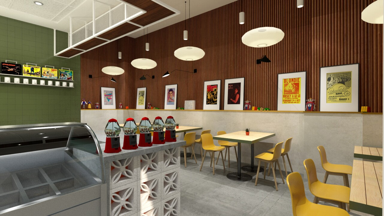 the Stir Coffee Bar 2 - artist rendering