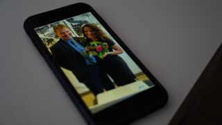 Couple uses Zoom video chat to host wedding for friends, family across the U.S.
