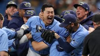 Ji-Man_Choi_Detroit Tigers v Tampa Bay Rays