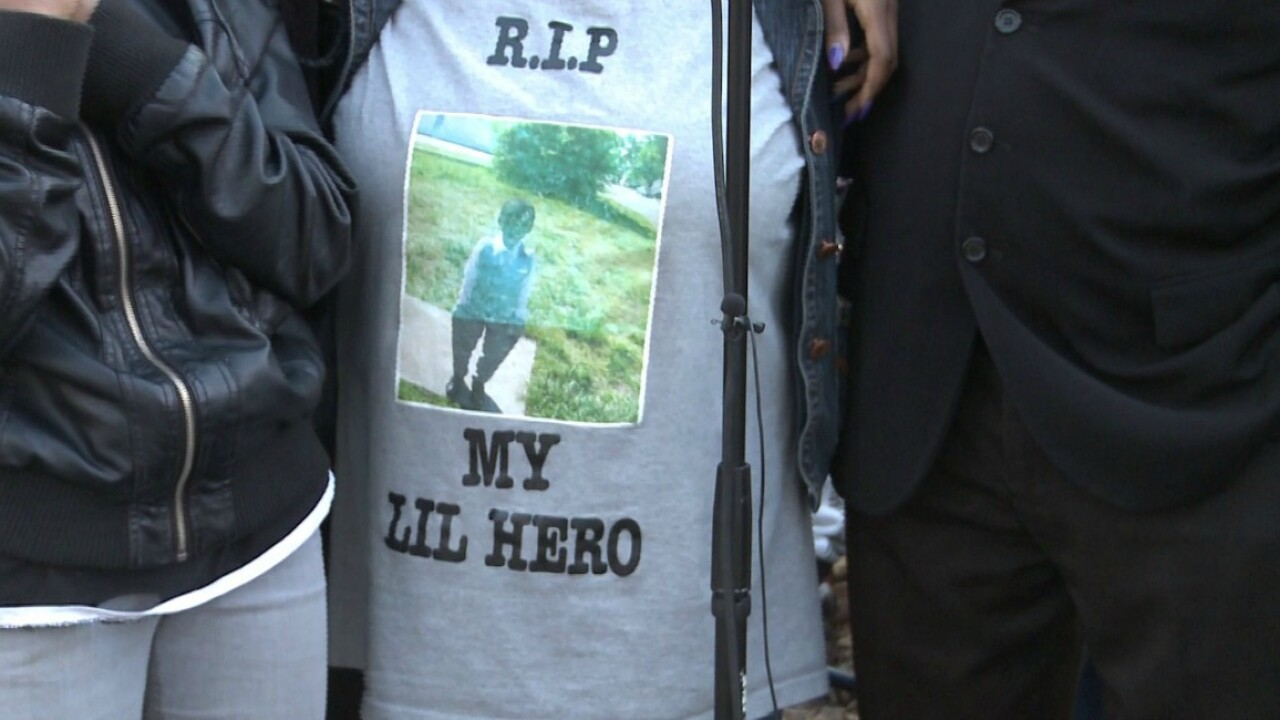 Marty Cobb's mother says 'Happy Birthday Baby' at vigil forson