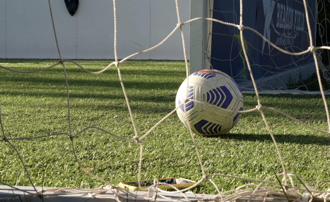 Soccer Ball at Beacon Field at Beacon Park