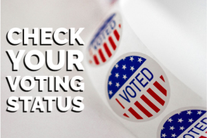 Check Your Voting Status