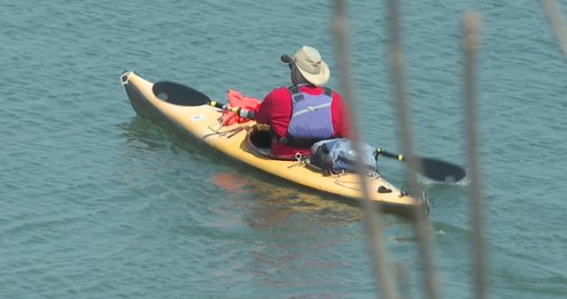 Kayaks are back on the water already this season