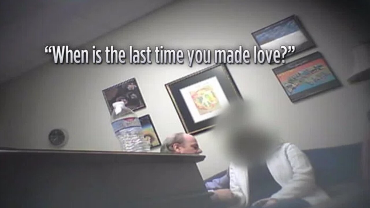 Disturbing video shows attorney apparently trying to hypnotize clients for sexual pleasure