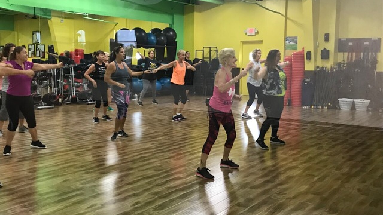 Cape Coral woman dances zumba into golden years