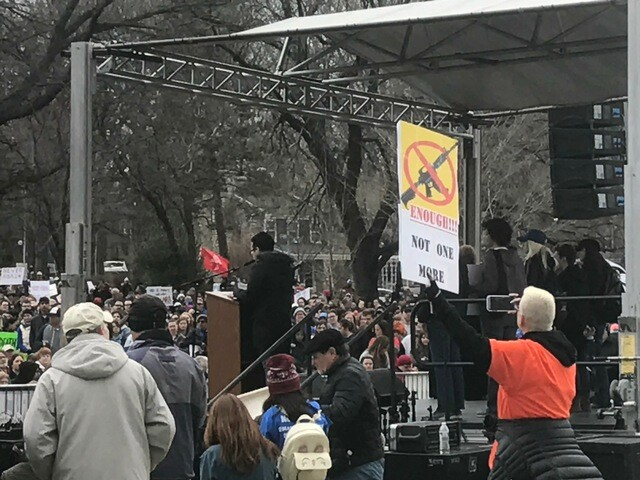Thousands attend March for Our Lives rally in Kansas City