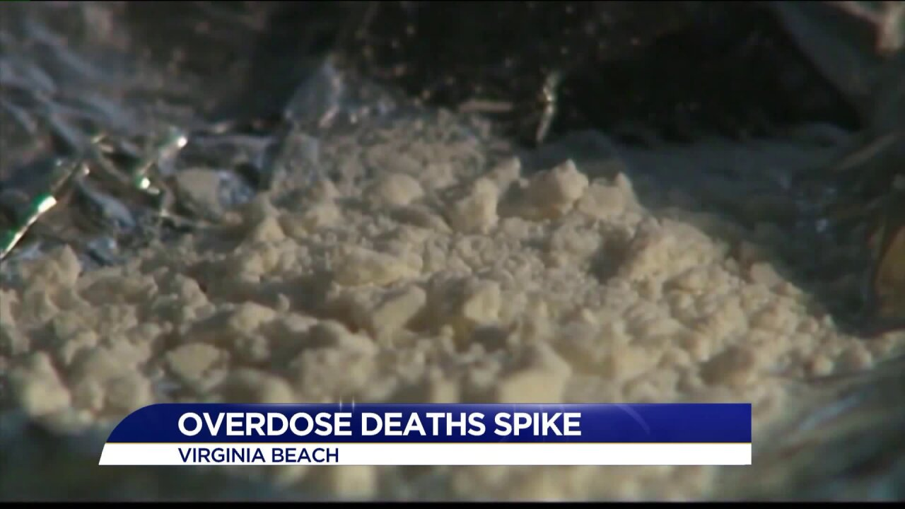 Virginia Beach continues to battle opioid overdose
