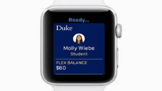 Johns Hopkins University picked to pilot Apple Watch new student ID feature