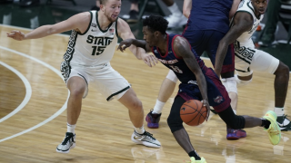 Michigan State survives scare, beats Detroit Mercy
