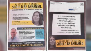 New campaign ad uses Virginia Beach shooting victim's family member without hispermission
