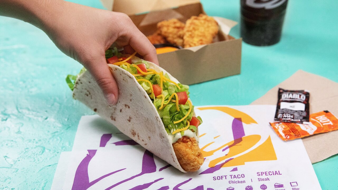 Here comes Taco Bell's answer to the chicken sandwich wars