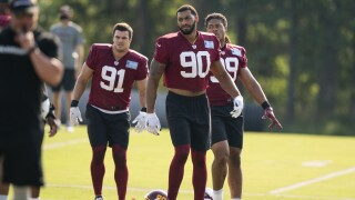Ryan Kerrigan, Montez Sweat, Chase Young
