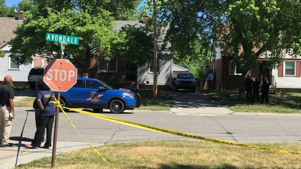 1 dead in shooting outside Inkster home