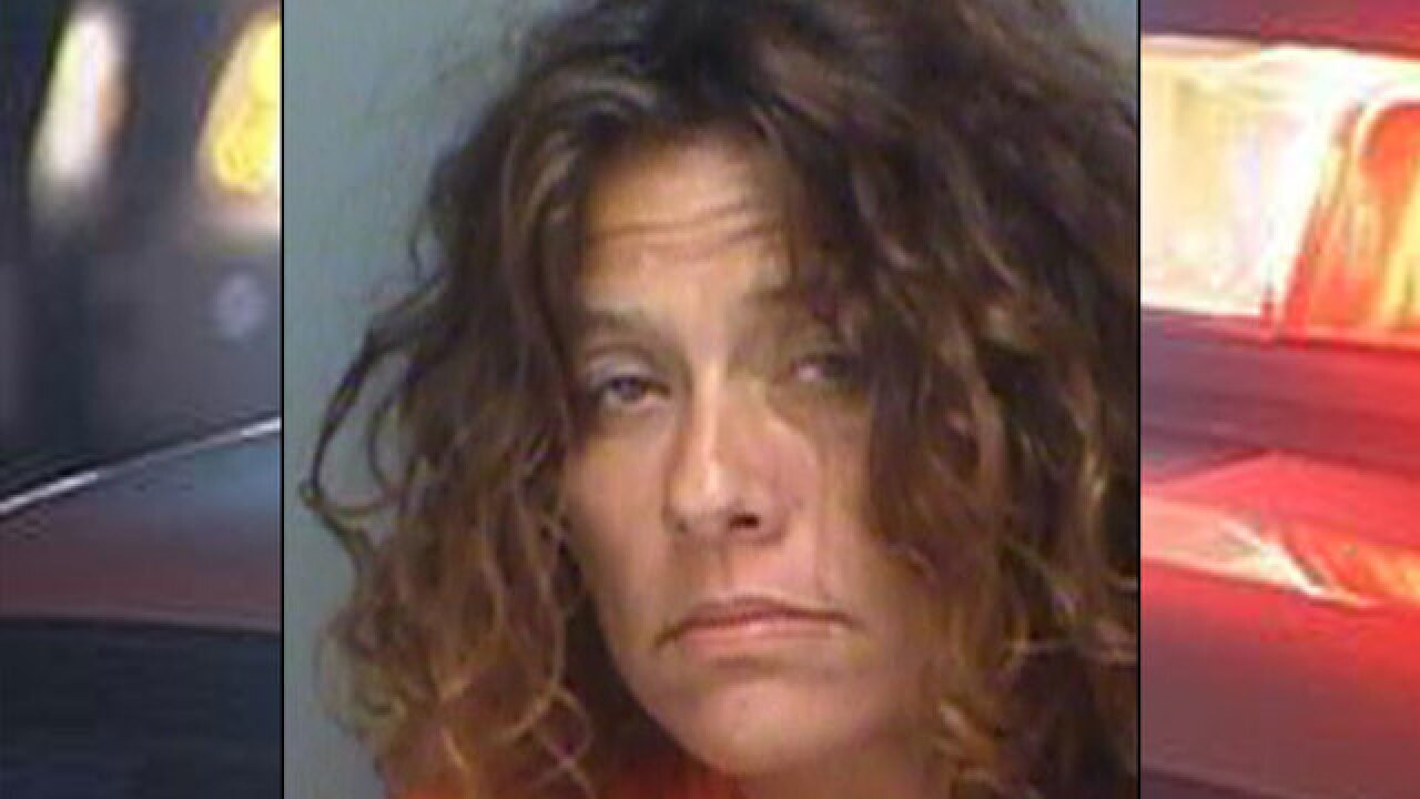PD: Florida woman high on meth ran around naked in park because she believed giant spider was on her