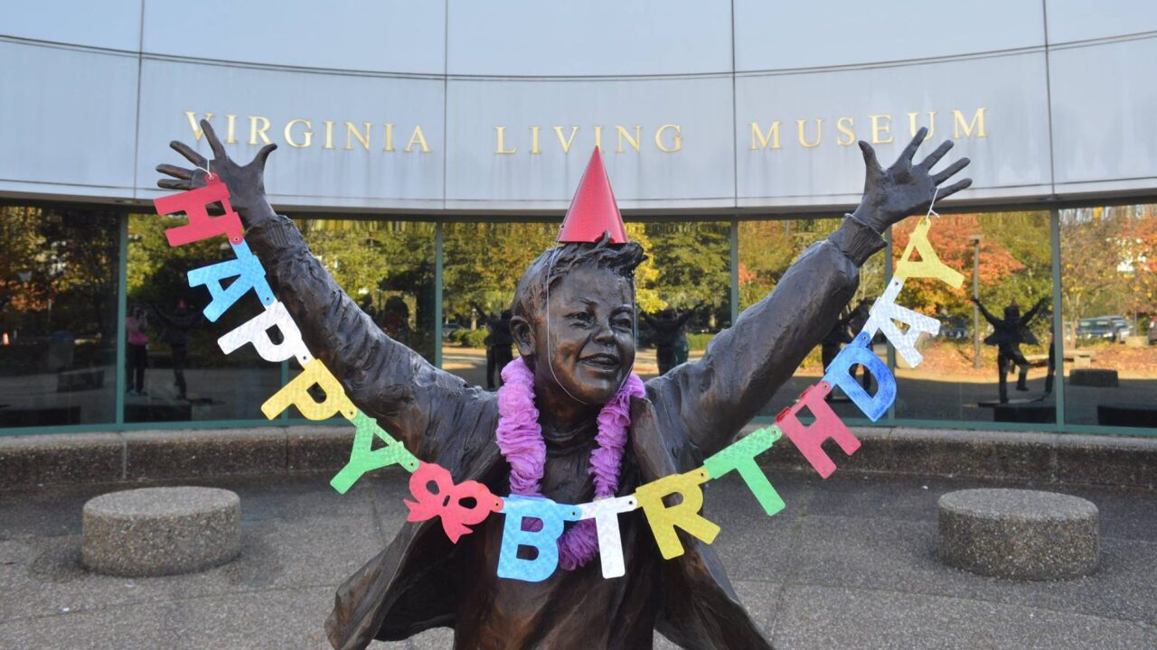 Virginia Living Museum celebrating birthday with $1 admission