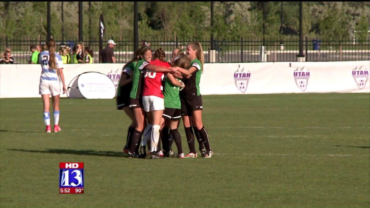 Three girls soccer teams headed tonationals