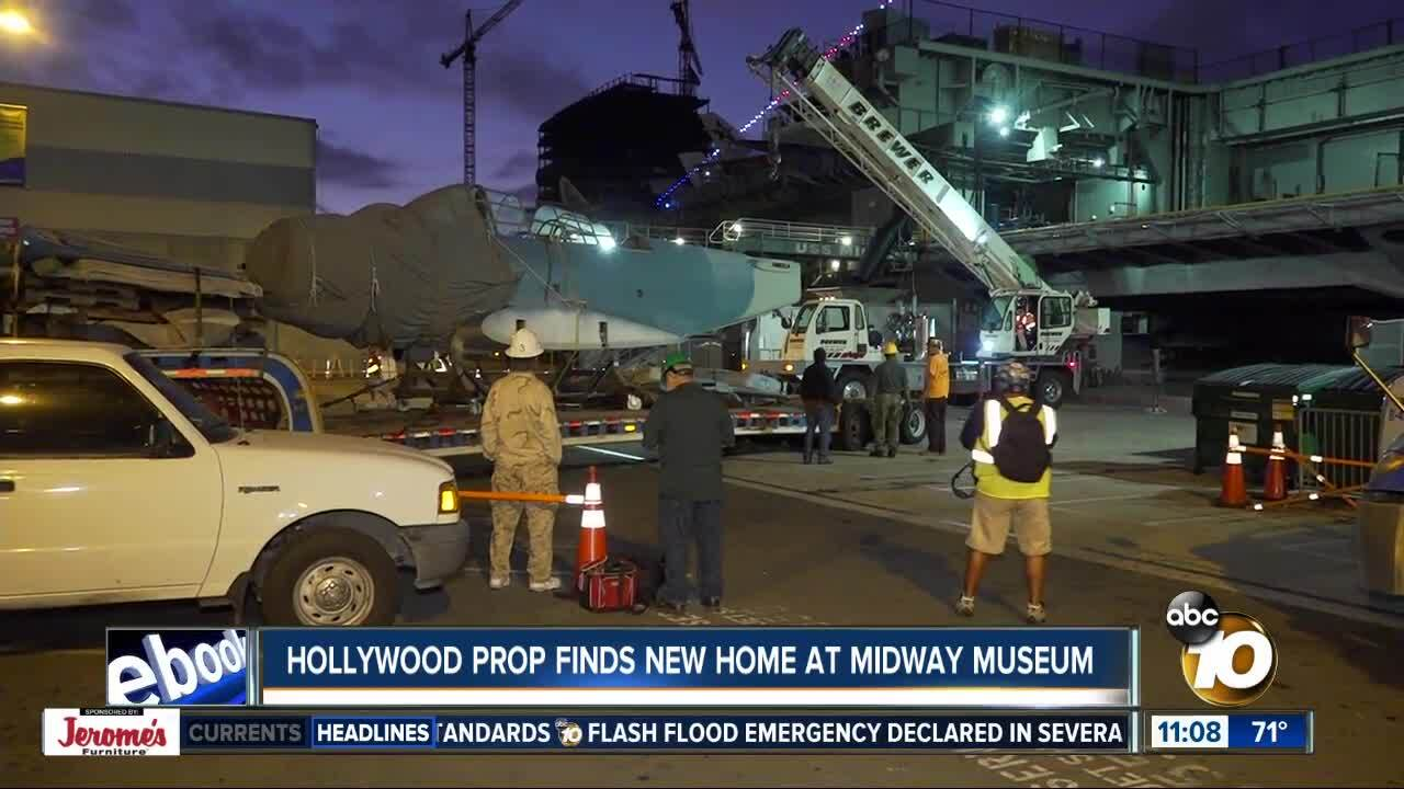 Hollywood prop finds new home at USS Midway Museum