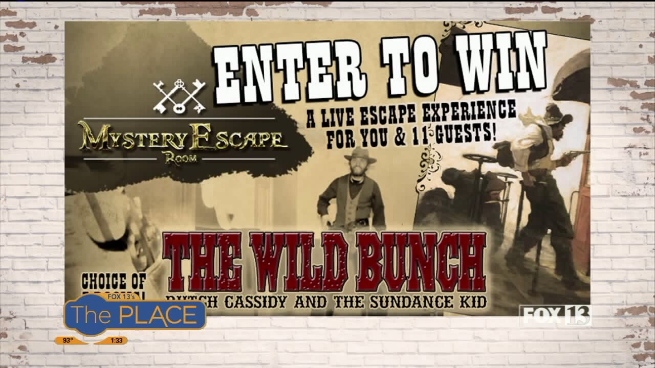 Experience the Wild Bunch at Mystery Escape Room