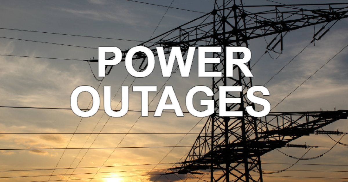 Thousands without power due to storm