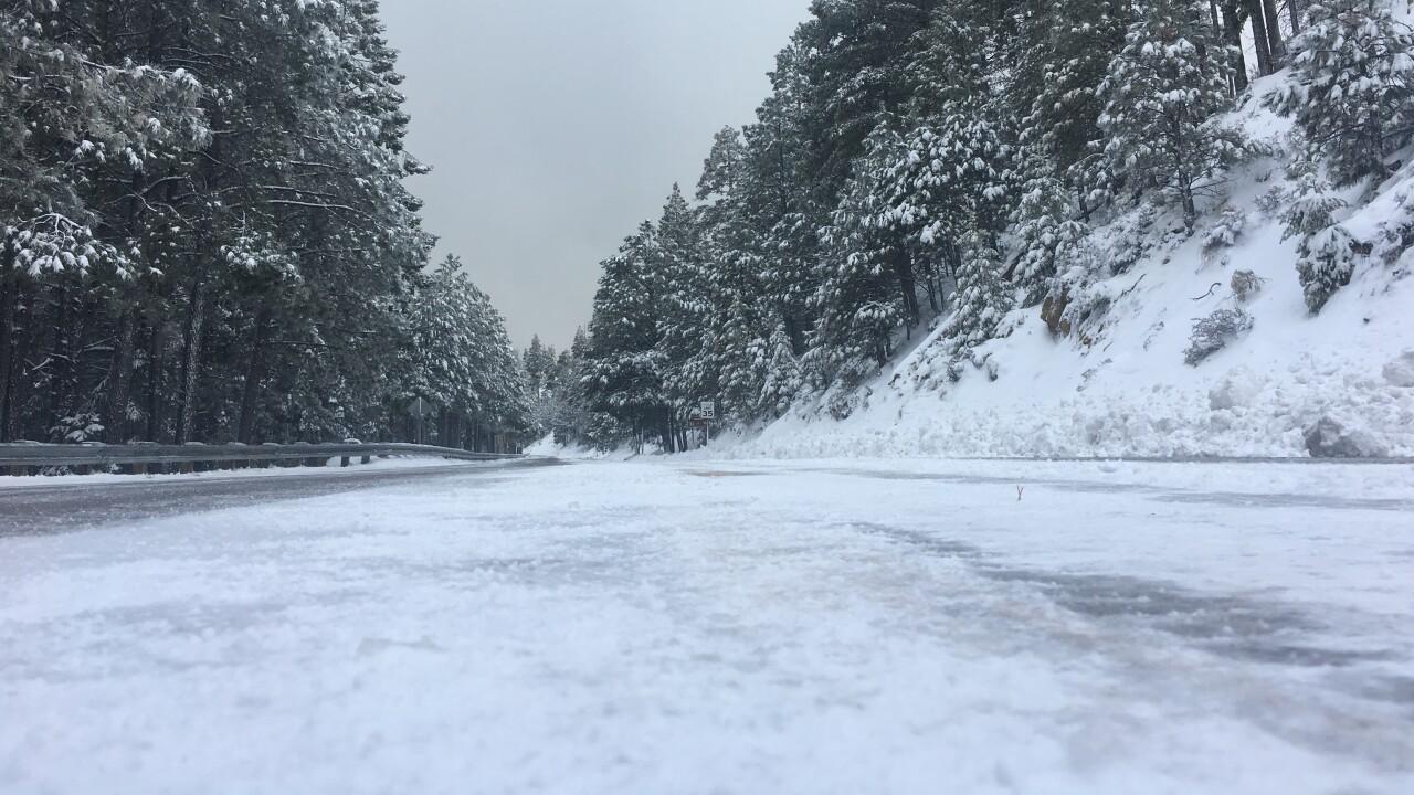 Mount Lemmon Snow