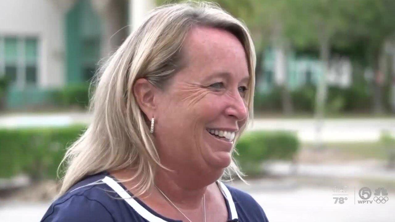 Tracy Ghetti, principal at Royal Palm Beach Elementary School