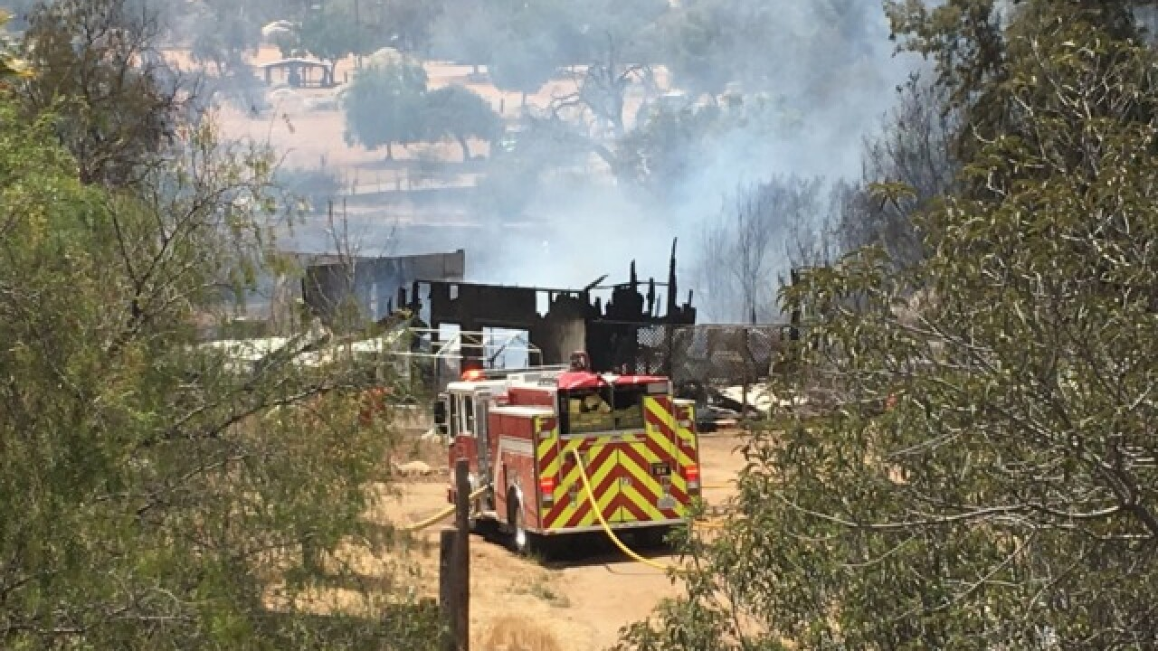 Multiple fires breakout on hottest day of summer