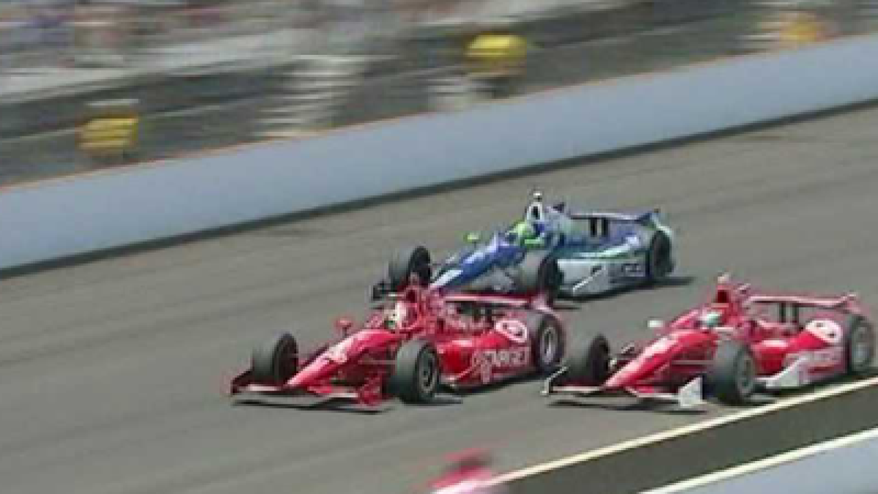 Franchitti wins Indy 500 for the third time