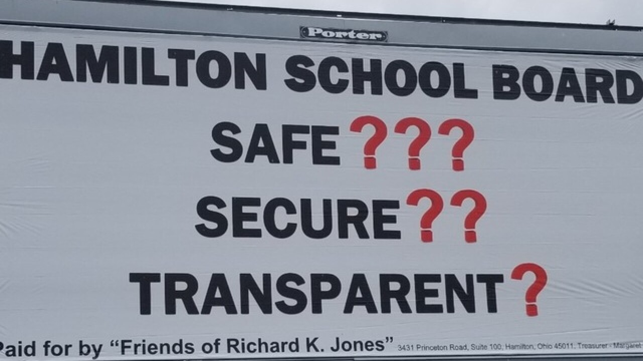 Butler County sheriff unveils 1st billboard blasting school security