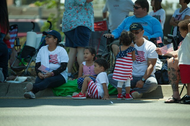 Mira Mesa Fourth of July parade 2017