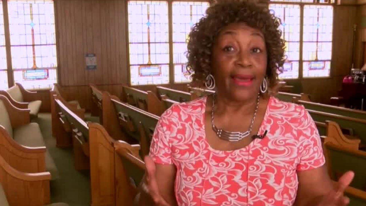 Cora Studstill-Perry of Greater Antioch Missionary Baptist Church trustee board chairperson