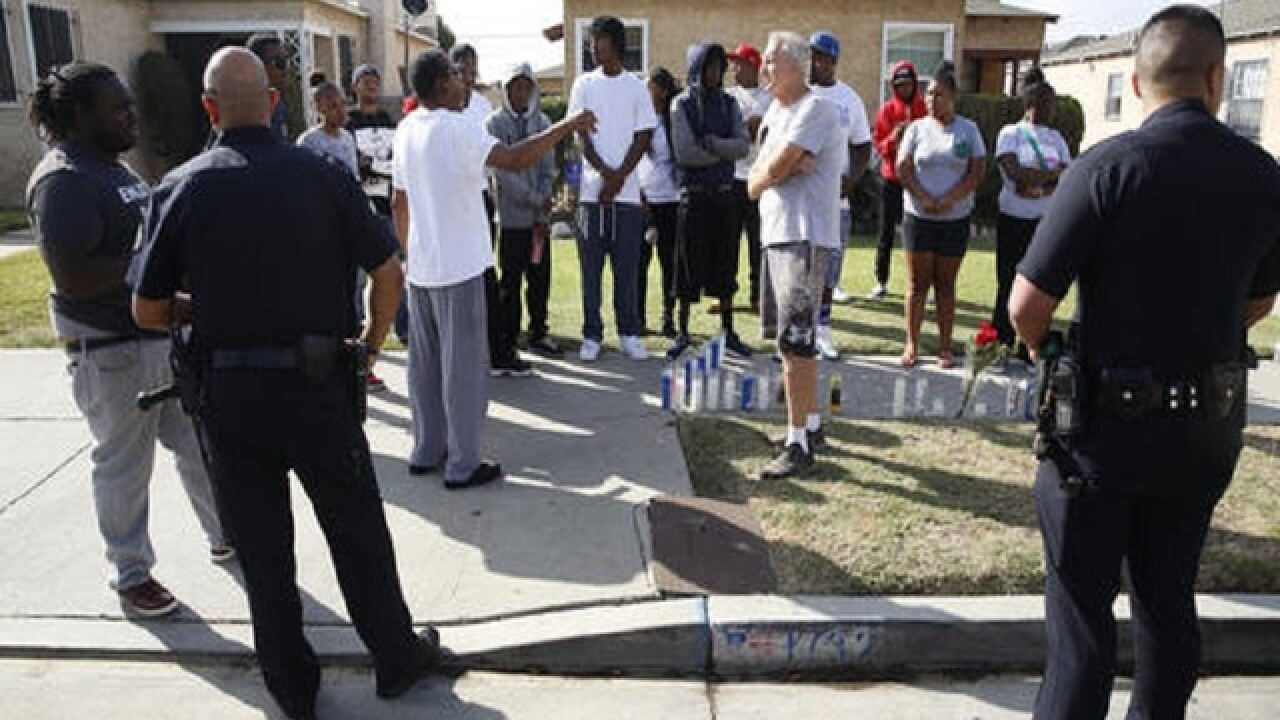 Activists search for answers in fatal police shooting