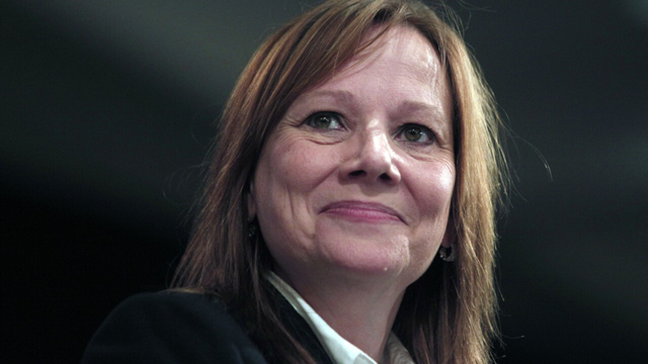 GM CEO Mary Barra named Fortune's second Most Powerful Woman