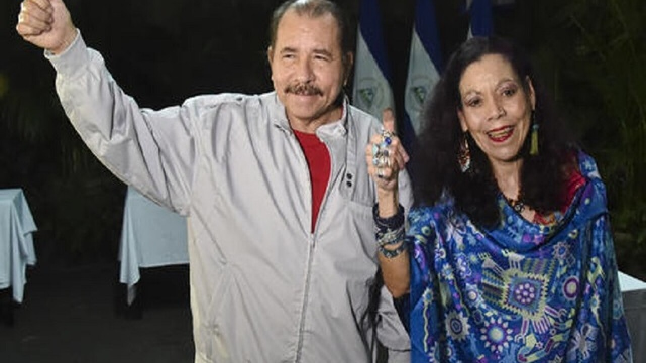 Nicaragua's president appears headed for re-election, again