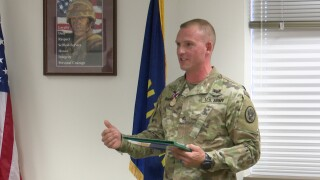 """Montana Guardsman honored for success in """"Best Warrior"""" competition"""