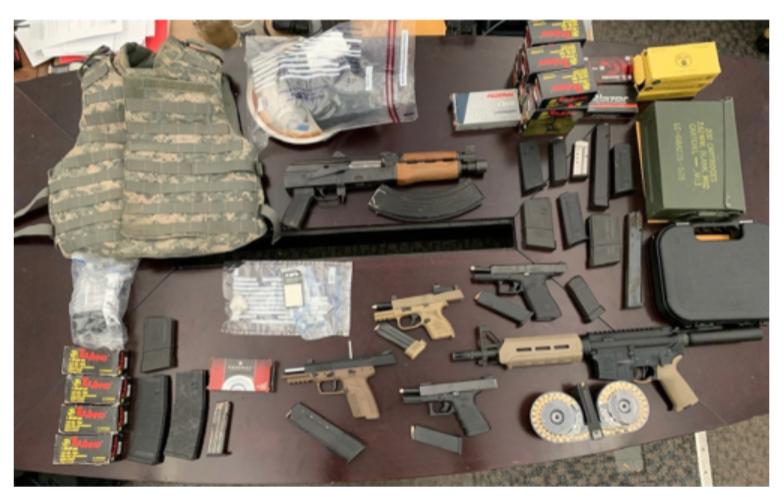 cleveland police gun seizure