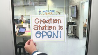 How Louisa Middle School's 'Creation Station' can help students land the jobs of thefuture