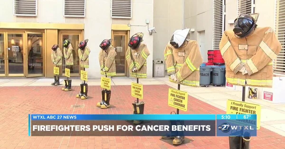 Firefighters Marching At Capitol >> Boots At The Capitol Florida Firefighters Push For Cancer Benefits