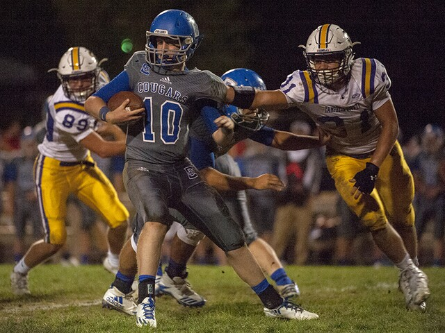 Campbell County 54, Conner 28