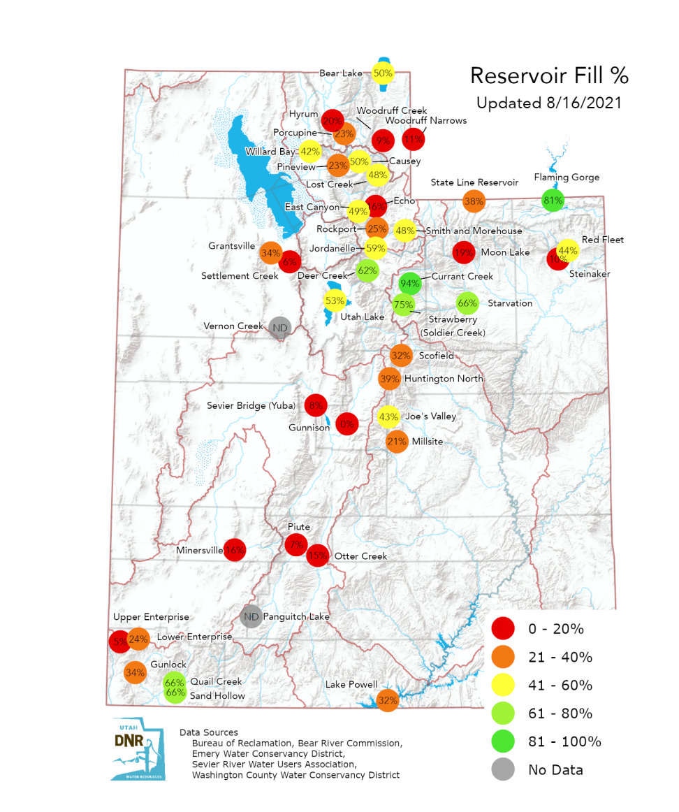Drought report 8/16/21