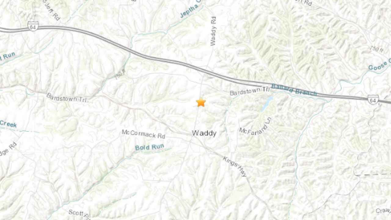 Minor earthquake confirmed in Shelby County