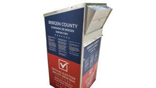Bergen County ballot drop box