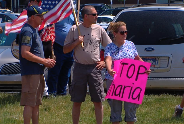 Photo gallery: Group protests Sharia Law in metro Detroit