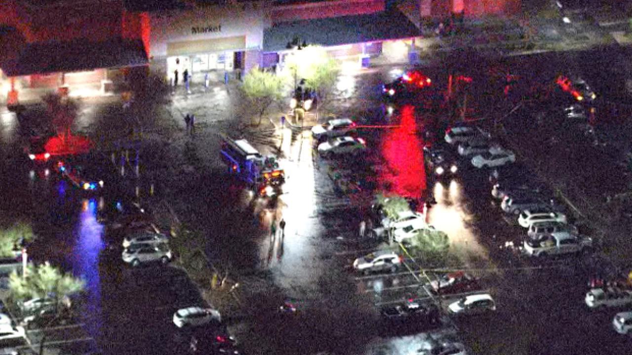 Man shot at Walmart in Queen Creek