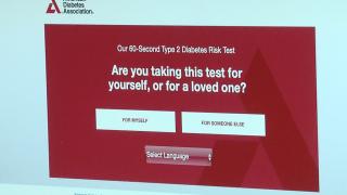 Diabetes online risk tes