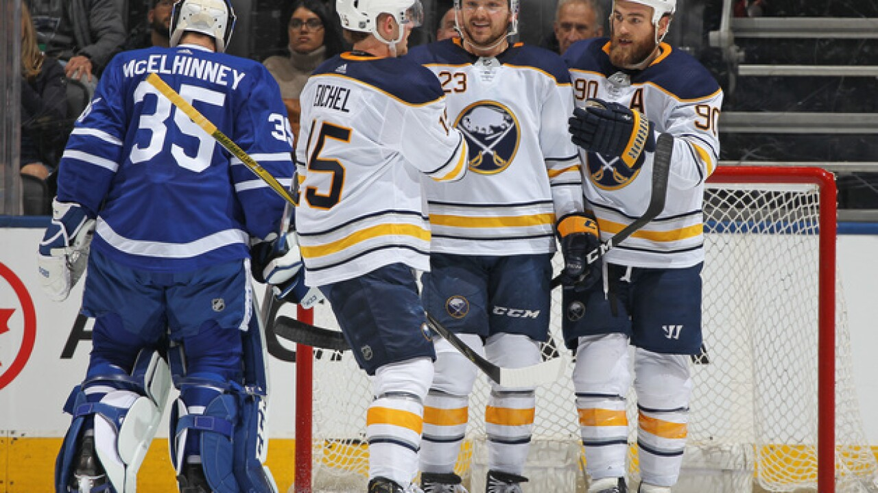 Sabres' Eichel dismisses rumors of friction with former teammate Ryan O'Reilly