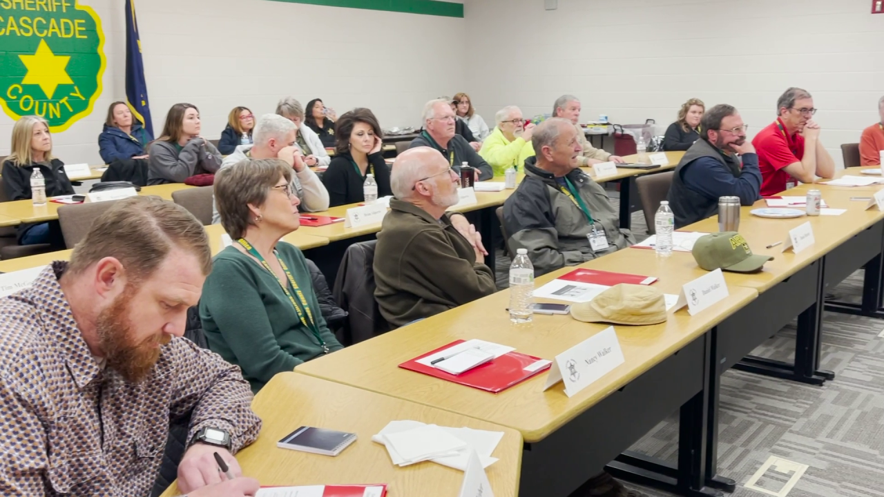 Cascade County Sheriff's Office Citizens Academy