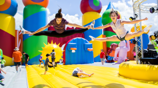 The 'World's Largest Bounce House' is coming to Sarasota in November