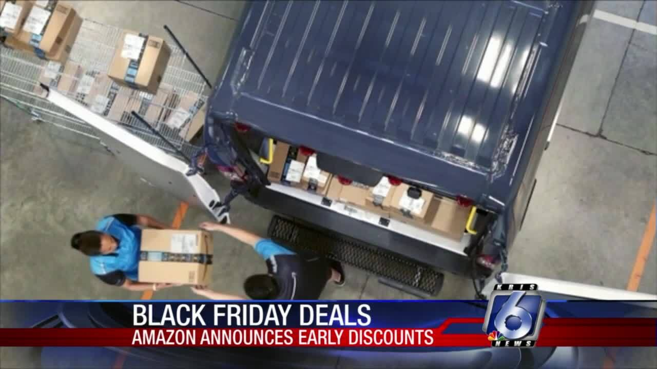 Amazon is rolling out Black Friday shopping even earlier than before