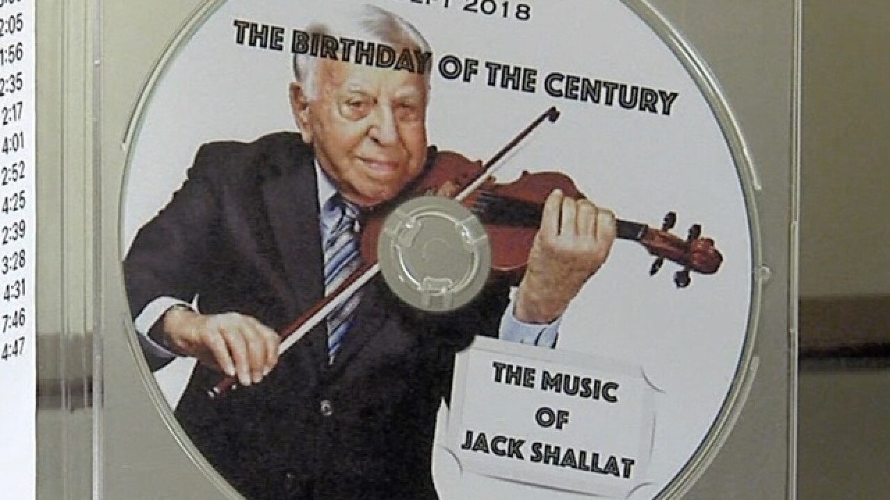 Local musician celebrates 100th birthday