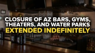 Arizona bars closed extension